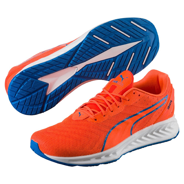 The latest PUMA IGNITE 3 PWRCool - Orange