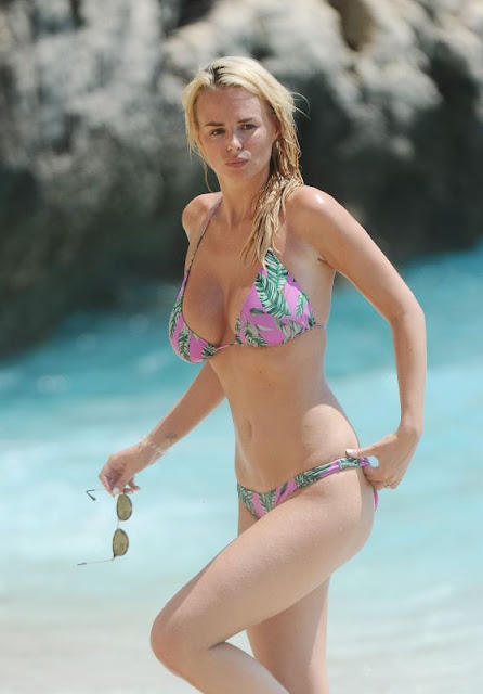 Rhian Sugden in Bikini – On Vacation in Kalkan