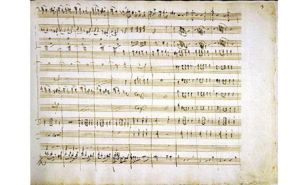 مجموعة مخطوطات للموسيقار موزارت - Mozart's 9 Symphonies Manuscript