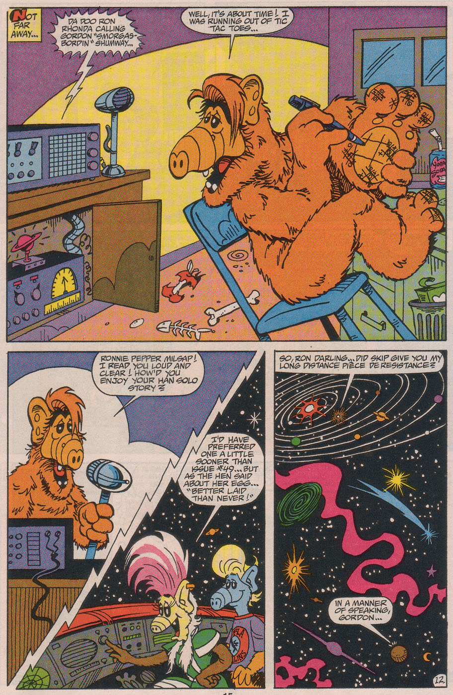 Read online ALF comic -  Issue #49 - 17