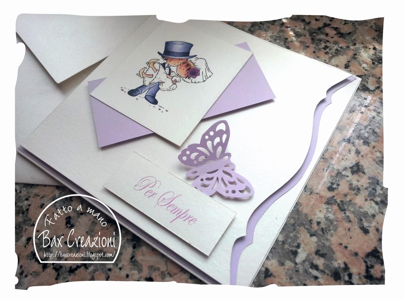 Auguri Per Un Matrimonio : Bax creazioni card d auguri per un matrimonio