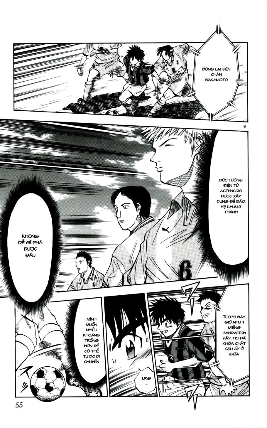 Fantasista chap 29 trang 9