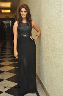 Actress Surabhi Stills in Black Long Dress at turodu Audio Launch  0111.JPG