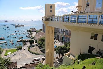 Salvador, capital city of Bahia State, Brazil.