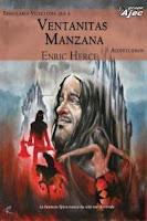 """Portada del libro """"Singulares vicisitudes que a Ventanitas Manzana acontecieron"""", de Enric Herce"""