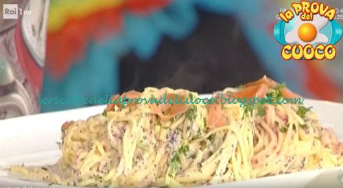 Tagliolini panna e salmone ricetta Messeri da Prova del Cuoco