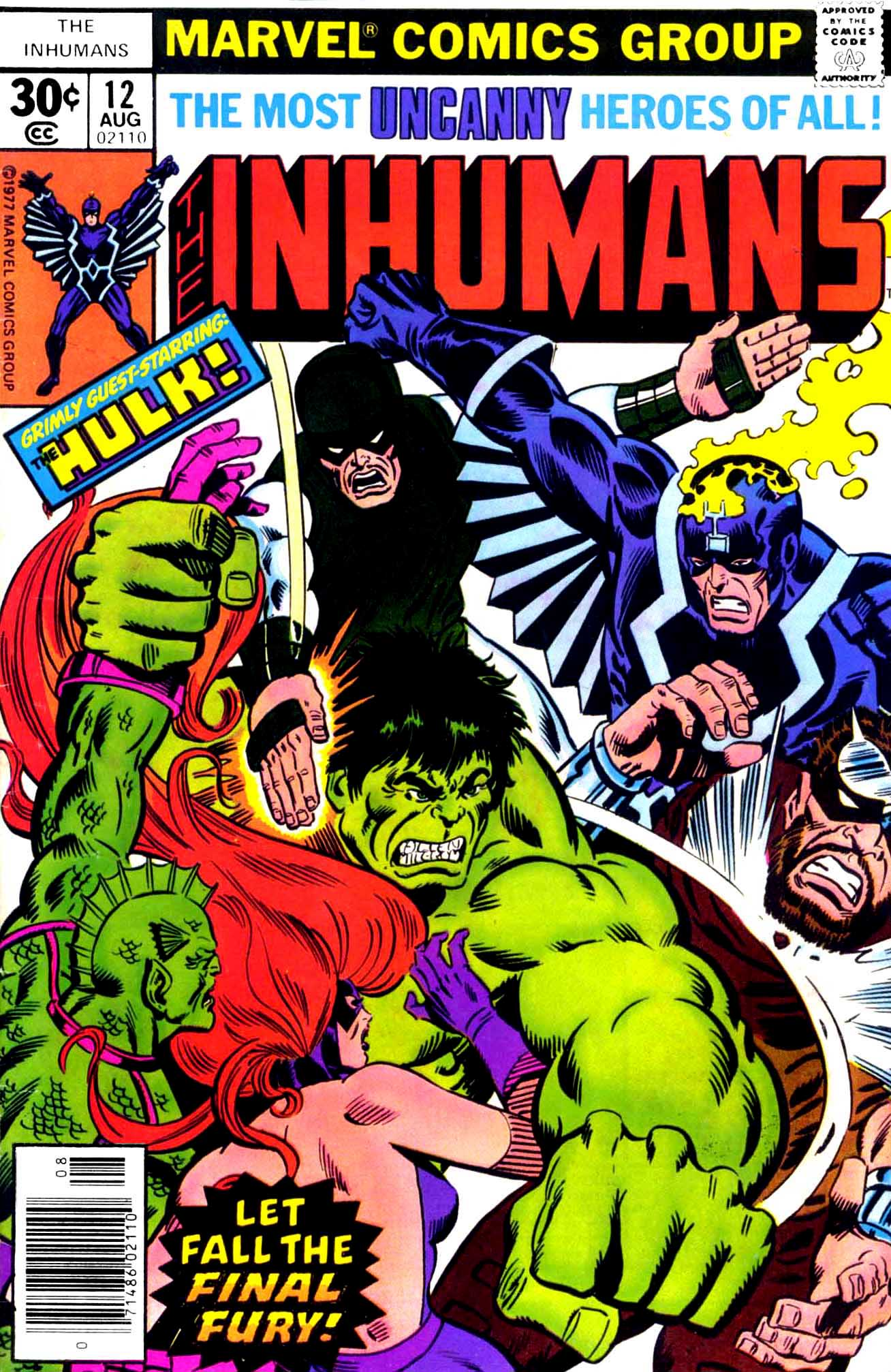 Inhumans (1975) issue 12 - Page 1