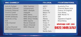 MNC Vision Gratis iuran selamanya Indovision merauke