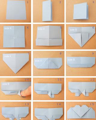 origami para san valentin