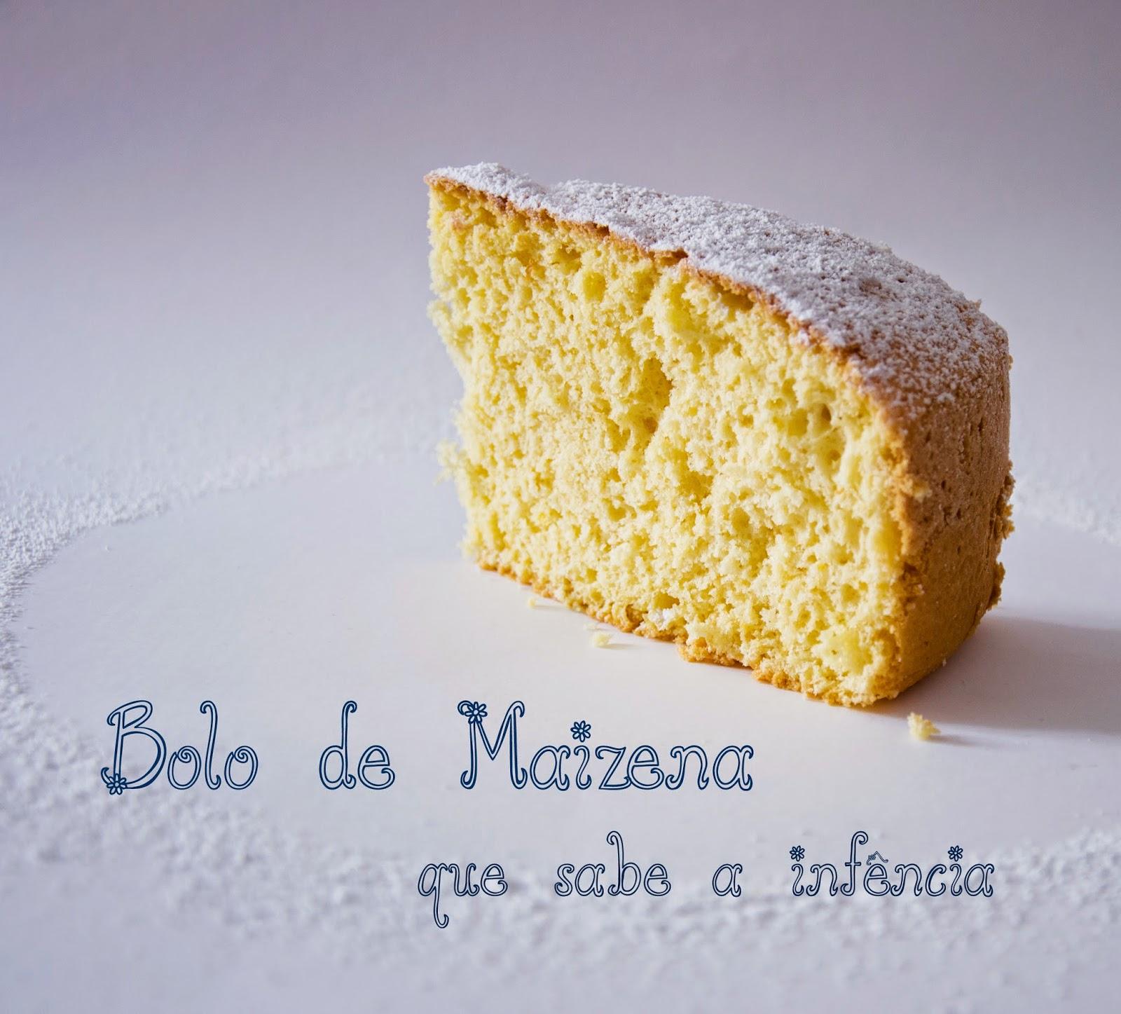 Bizcocho de Maizena con sabor a niñez / Bolo de Maizena com sabor a infância