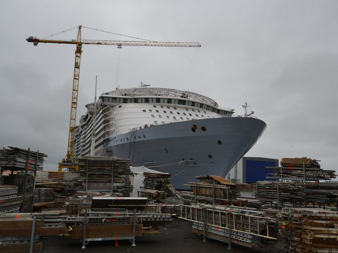 First Look at the World's Largest Cruise Ship Ever