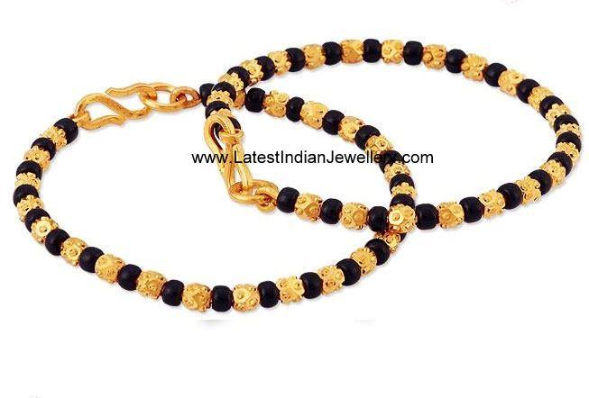 Cute Baby Bangles Murugulu With Black Beads