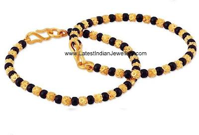 Cute Baby Bangles Murugulu With Black Beads Latest
