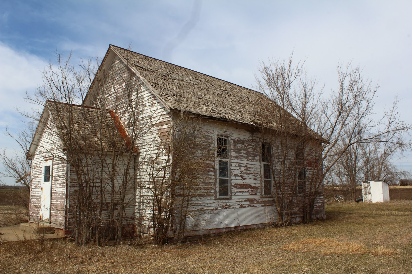 Kansas One Room Schoolhouses Abandoned One Room