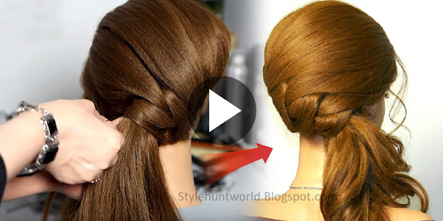 How To Make Simple Party Hairstyle, See Tutorial