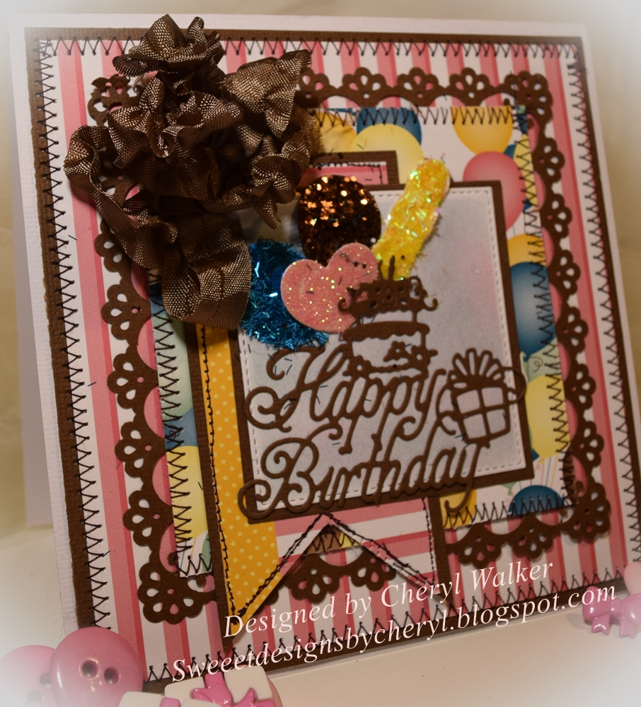 Sweeet Designs By Cheryl: Birthday Surprise