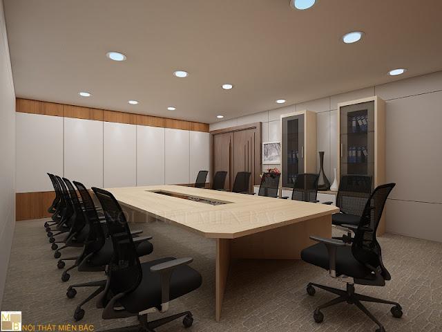 Mẫu nội thất phòng họp ấn tượng tạo cho căn phòng sự tiện nghi và chuyên nghiệp hơn bao giờ hết