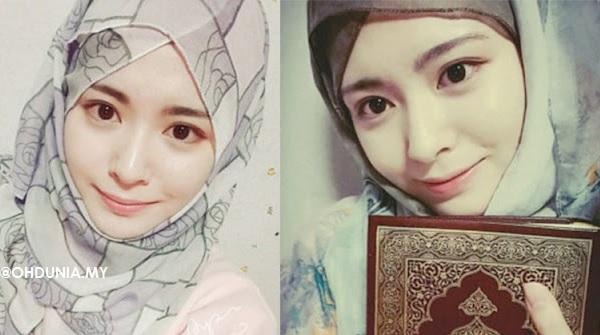 Bekas Artis K-pop Cantik Menawan Bertudung Setelah Memeluk Islam, Siapakah Beliau?