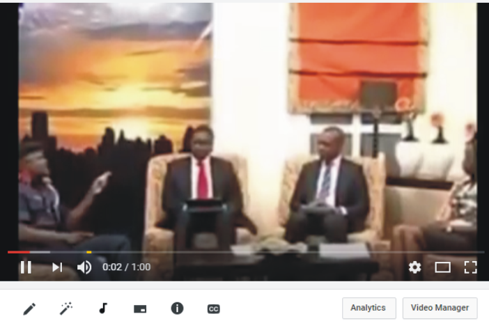 "In The Face Of Recession, Lets Remember ""Our Oga At The Top"" - Video"