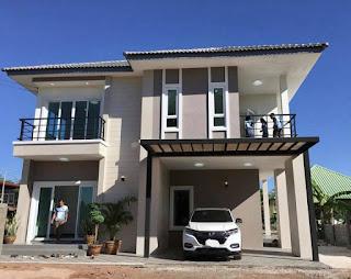 แบบบ้านสองชั้นราคาไม่เกิน 2 ล้านบาท