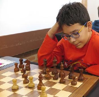 El joven ajedrecista Pau Pueyo i Amorós