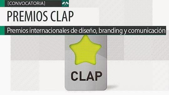 Premios internacionales de diseño CLAP en Iberoamérica