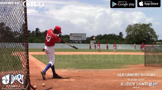 Vargas short stop de 16 años nacido en Matanzas, se había colocado en el lugar número 8 del ránking de los talentos internacionales de la MLB