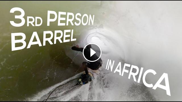 Koa Smith 3rd Person Barrel in Africa