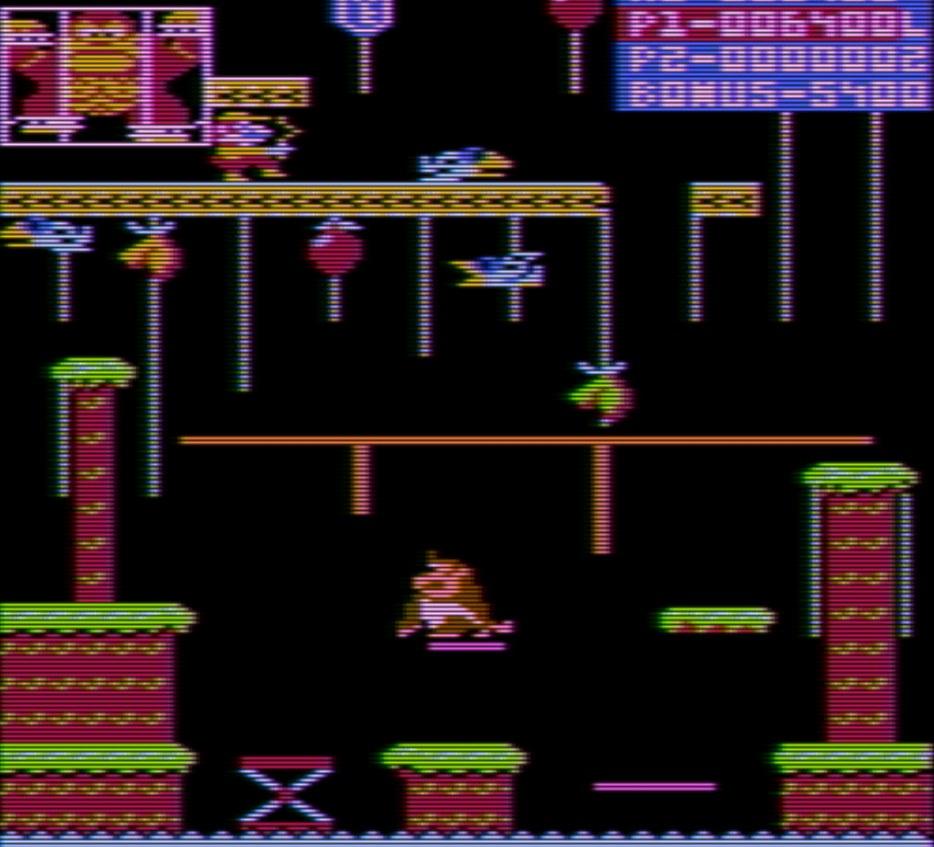 Indie Retro News: Donkey Kong Jr - Atari 8-bit Arcade HACK