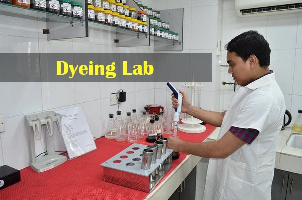 dyeing lab