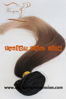 Brazilian hair clip on extensions