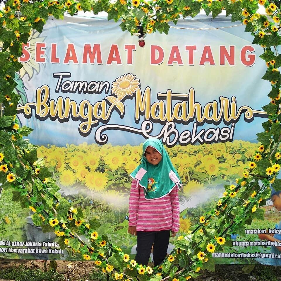 Taman Bunga Matahari Wisata Baru Di Bekasi
