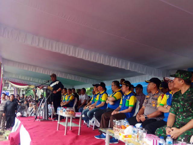 Sepak Bola U 20 Piala Gubernur Dibuka Oleh Herman Deru