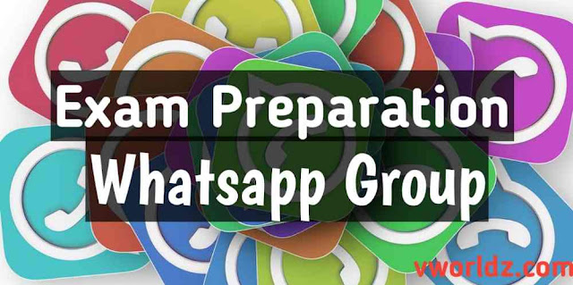 Exam Preparation Whatsapp Group