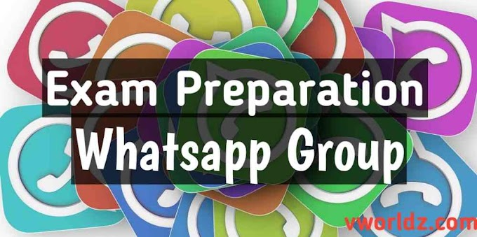 Exam Preparation Whatsapp Group Link Collection For All Exams