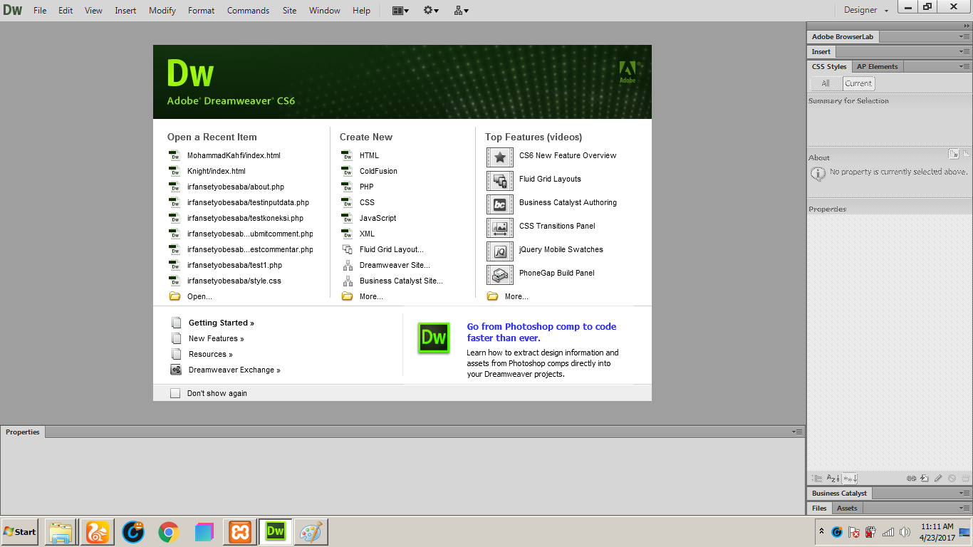 Adobe Dreamweaver CS 6 Portable