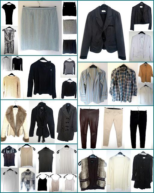 winter capsule wardrobe, garde-robe capsule hiver