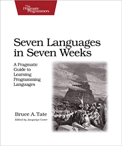 Seven Languages in Seven Weeks front cover