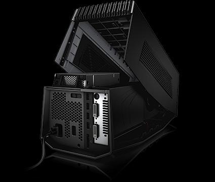 amplificador gráfico Alienware