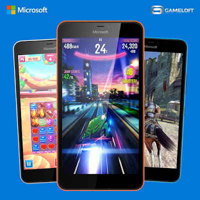 Lumia FREE Gameloft Gift Pack Promo