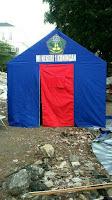 Tenda Posko 3x4, Arwin Tenda menjual dan membuat tenda posko 3M x 4M