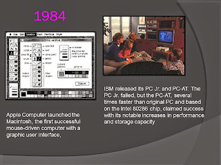 IBM PC Jr and PC-AT