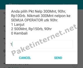 Cara daftar paket nelpon XL ke Semua Operator 3 Bulan termurah
