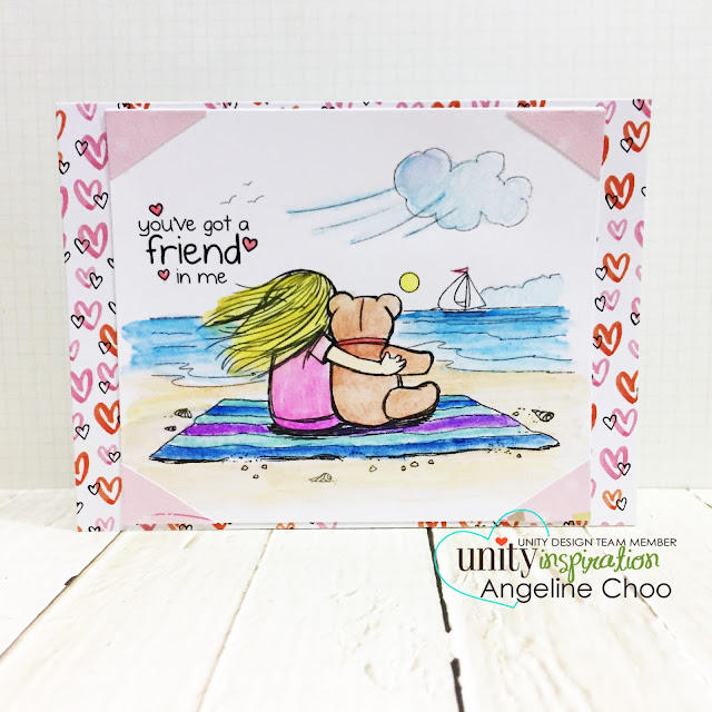 ScrappyScrappy: [NEW VIDEO] Phyllis Harris Friendship Stamps with Unity Stamp #scrappyscrappy #unitystampco #phyllisharris #stamp #stamping #craft #crafting #scrapbook #scrapbooking #typo #typowatercolorpencil #watercolorpencil #coloredpencils #watercolor #quicktipvideo #card #cardmaking