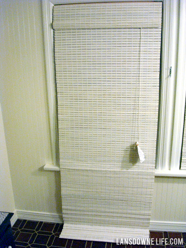 How To Shorten Woven Bamboo Shades Lansdowne Life