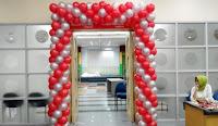 Balon dekorasi gapura / gate kotak