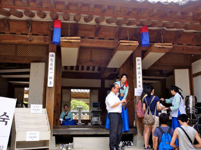 Korean Medicine at Namsangol Hanok Village Seoul