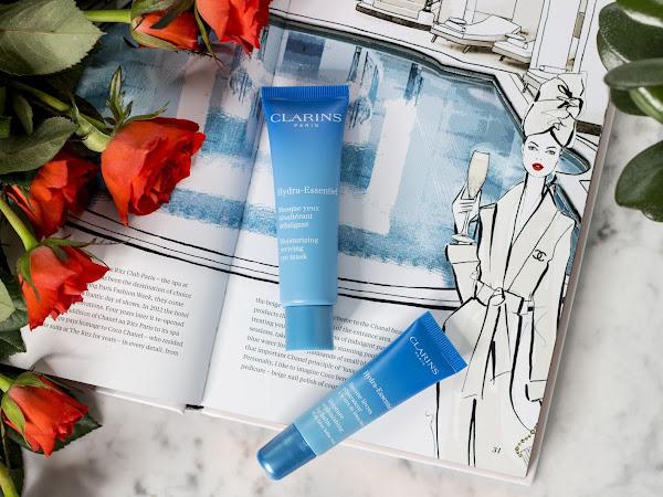 Clarins Hydra-Essentiel - intensive Feuchtigkeitspflege für Augenpartie und Lippen