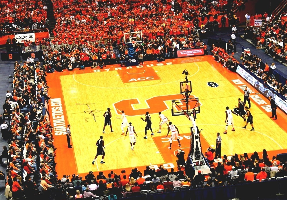 Carrier Dome Syracuse Basketball Home Court