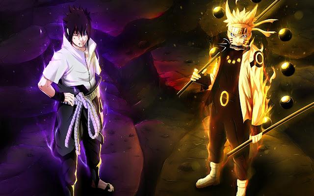 Naruto Shippuden dan Sasuke